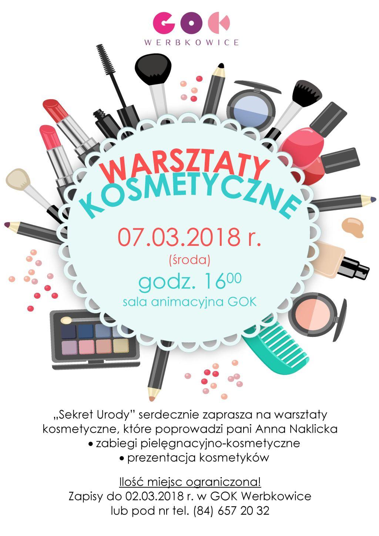 Warsztaty kosmetyczne