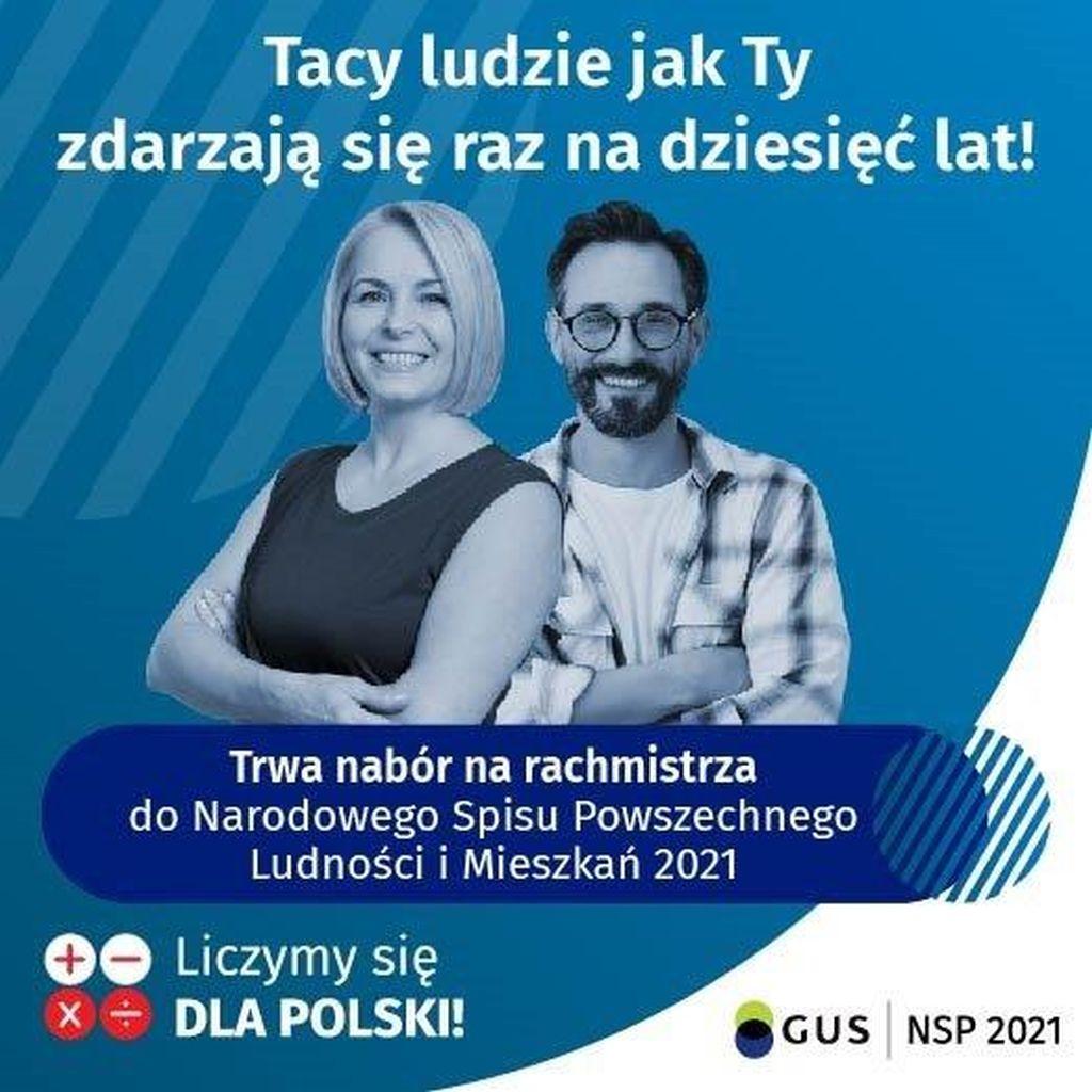 NSP 2021 - nabór kandydatów na rachmistrzów